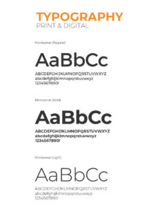 Mobius Consulting Typography