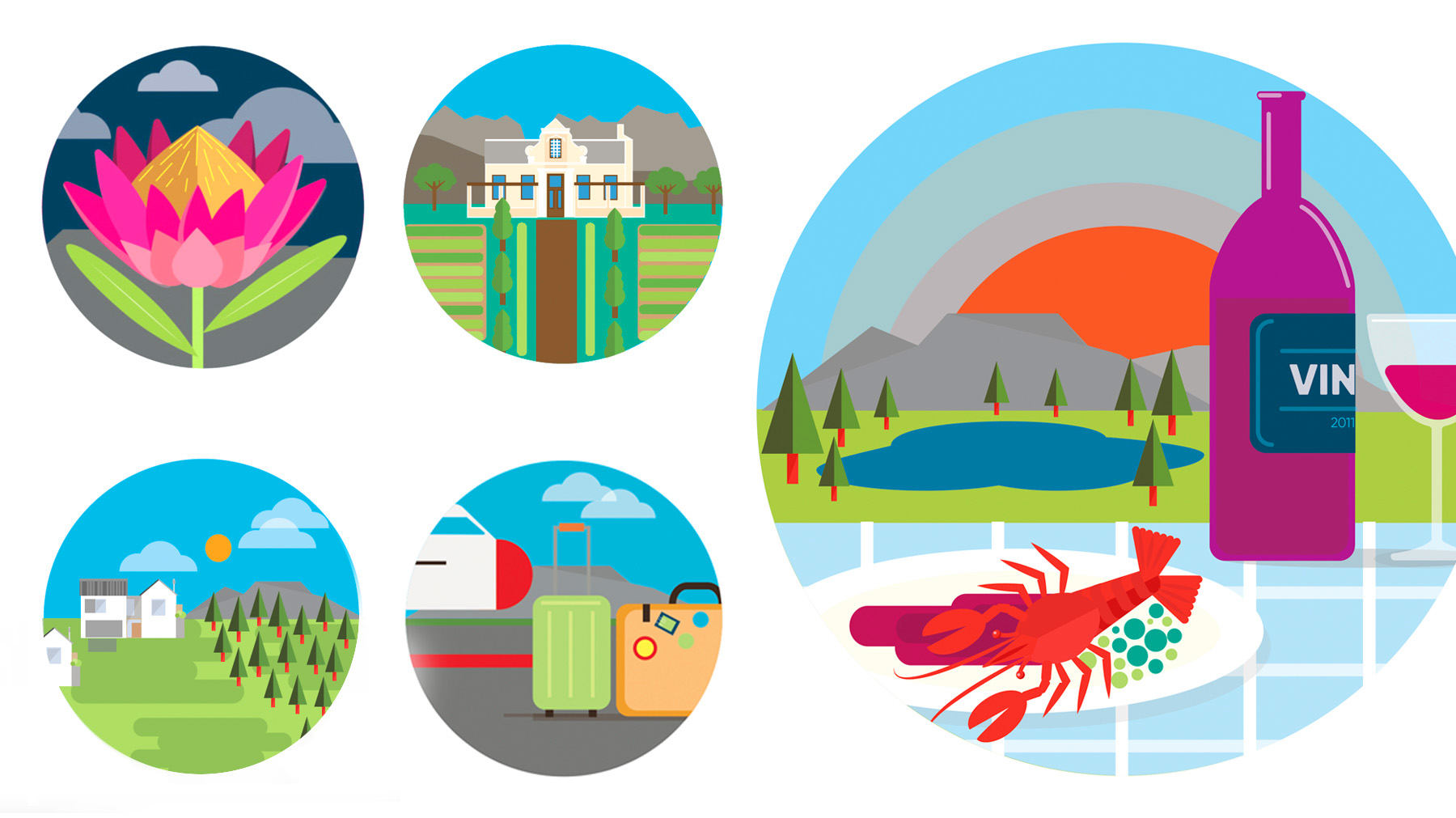 Somerset Lakes Icons