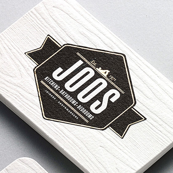 Joos joiners business cards