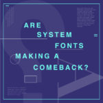 System fonts