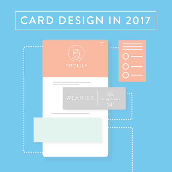 Card design in 2017