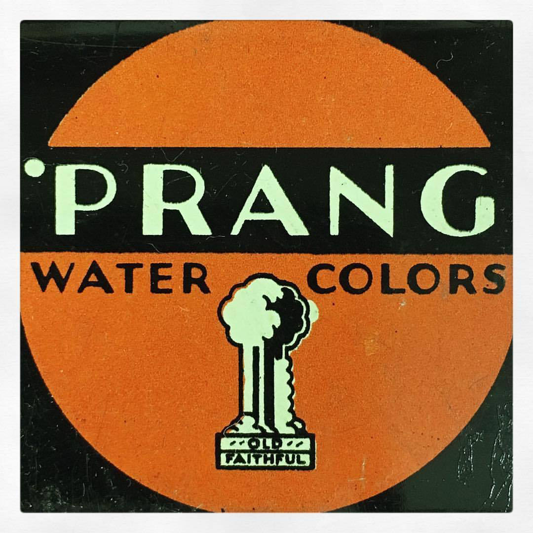 Retro Branding Prang Water Colors