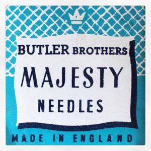 Retro Branding Majesty Needles