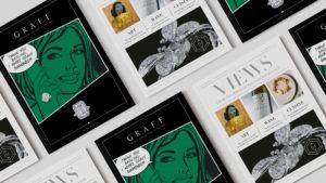 Views Wine estate publication editorial cover & back