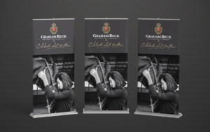 Graham Beck Pull Up Banners