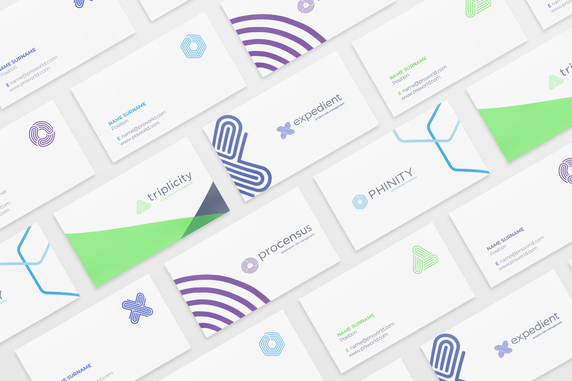 Phinity Suite Business Cards