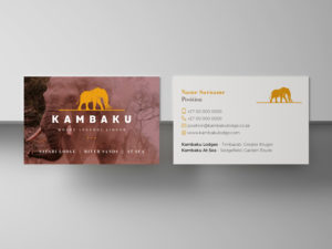 Kambaku Business cards