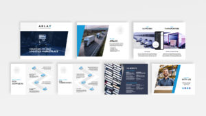 Arlax Digital Brochure Pages