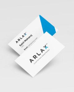Arlax Businesscards