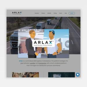 Arlax Video Screen