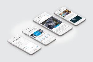 Arlax Mobile Website Design