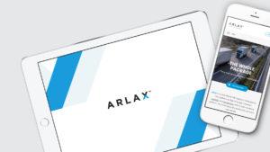 Arlax digial logo
