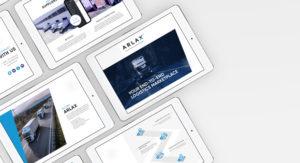 Arlax Logistics Brand Design