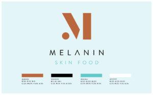 Melanin Logo Colour Breakdown