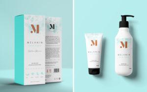 Melanin Skin Food Packaging Design