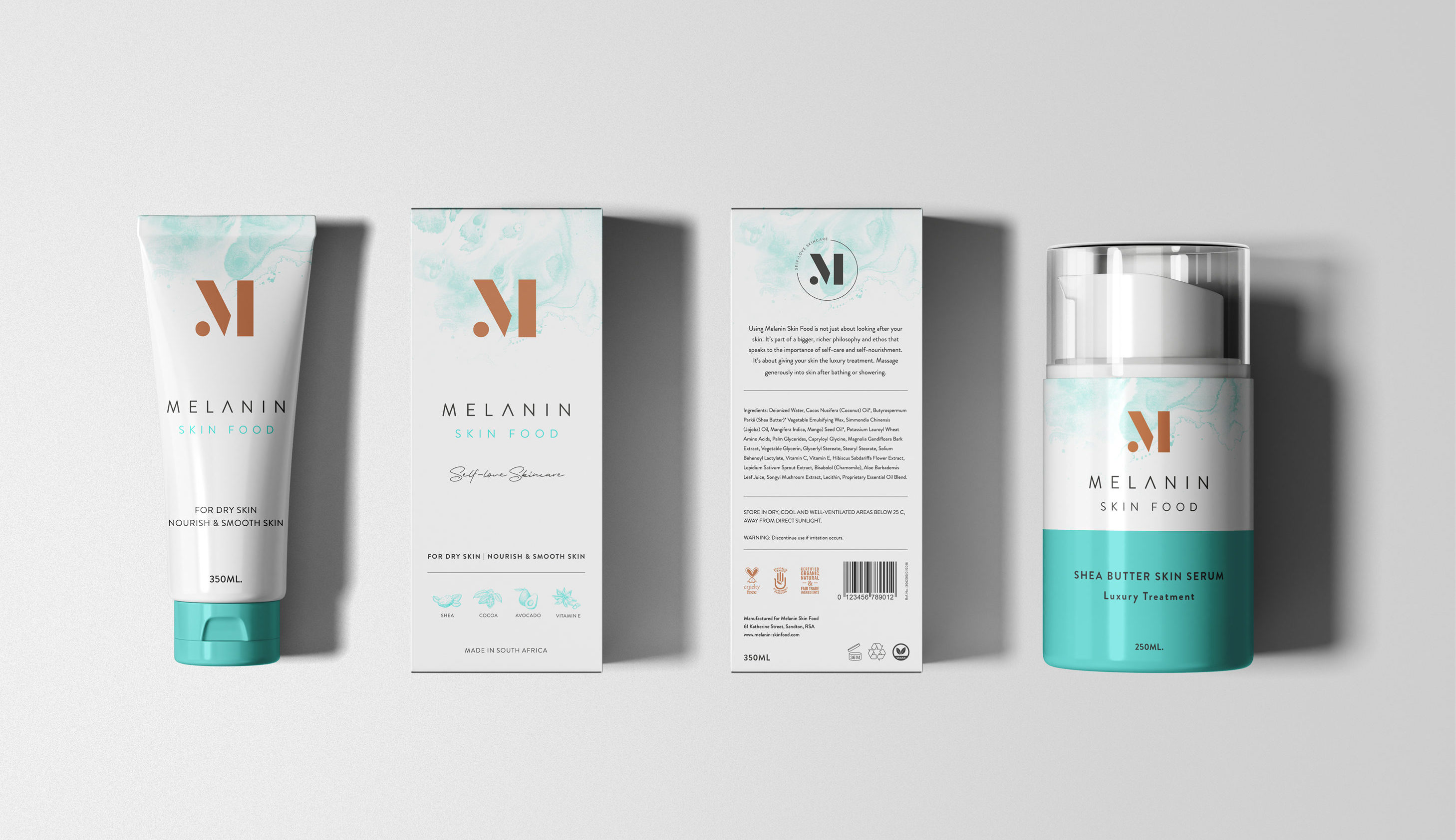 Melanin Skin Food Packaging Design