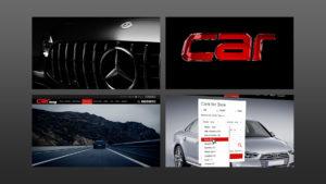 Car Magazine video screens