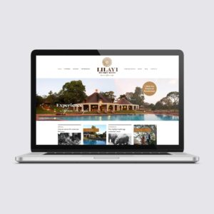 Lilayi Lodge Website Design