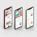 Vitalise Mobile App Design