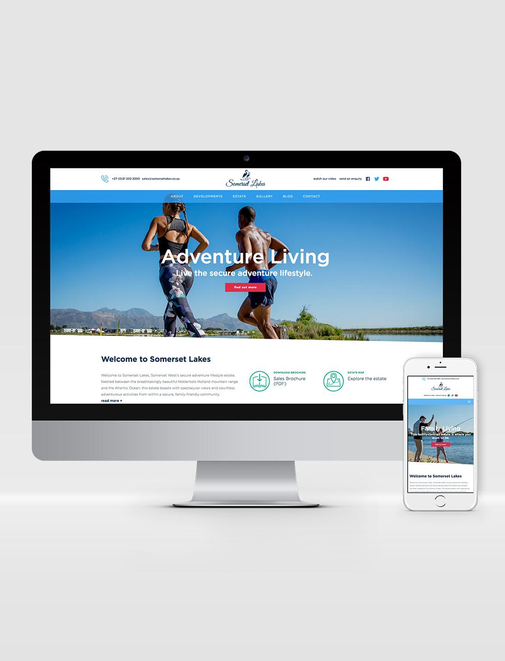 Somerset Lakes Web Design