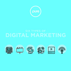 Pure Creative Types Of Digital Marketing Blog Post