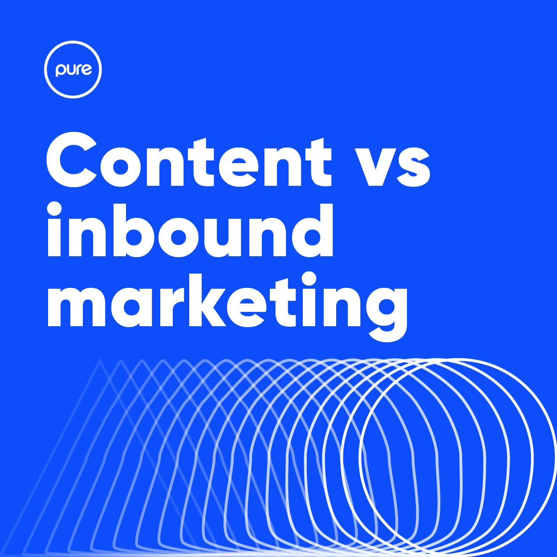 Pure Creative Content vs Inbound Marketing Blog Post